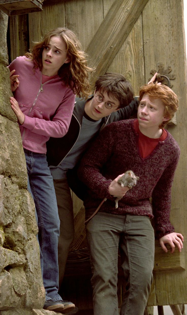 Hermione, Harry and Ron | Harry Potter and the Prisoner of Azkaban