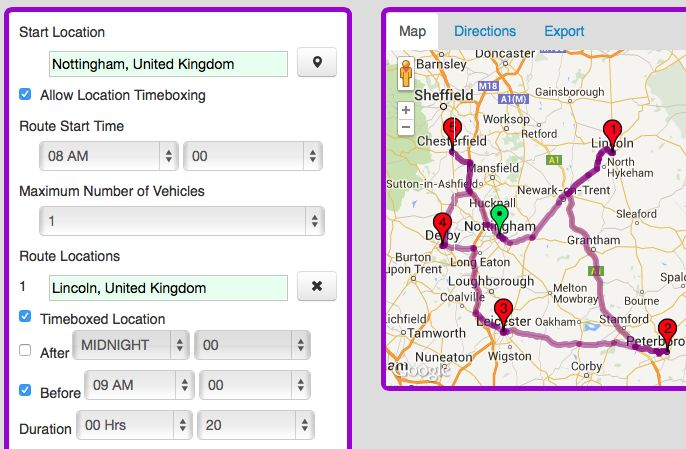 Timeboxed locations now available in Speedy Route!