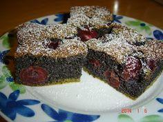 Betti gluténmentes konyhája: Meggyes mákos süti liszt nélkül
