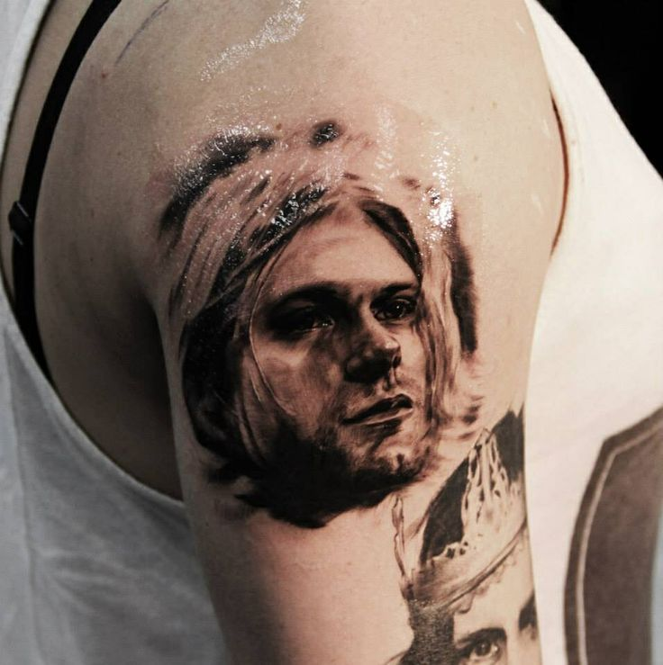 Kurt Cobain Tattoo