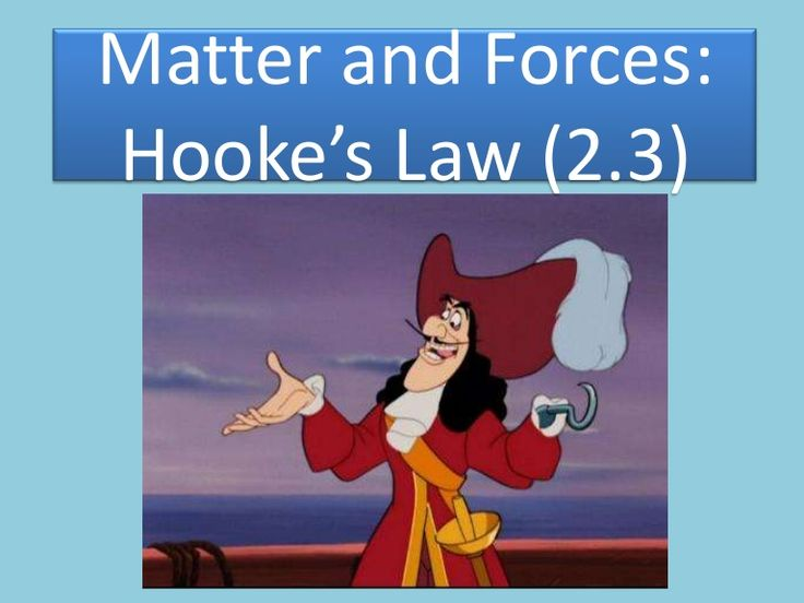 Matter and Forces:Hooke's Law (2.3)