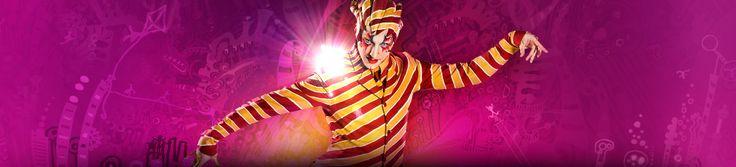 KOOZA show characters & clowns | KOOZA | Cirque du Soleil