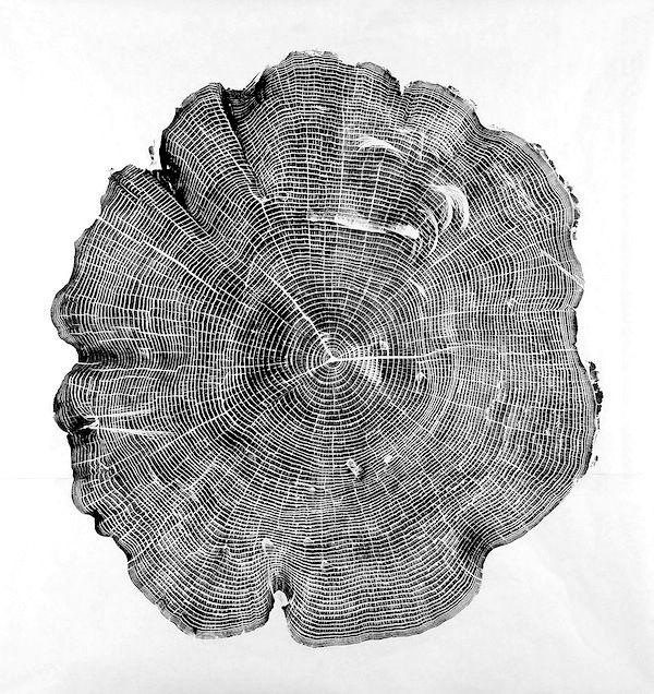 Woodcut by Bryan Nash Gill . WABI SABI - simple, organic living from a Scandinavian Perspective.