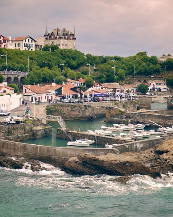 Le petit port de #Biarritz #PaysBasque #France.
