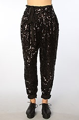 Sequin MC Hammer pants!