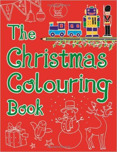 The Christmas Colouring Book Amazoncouk Emily Golden Twomey 9781780551081