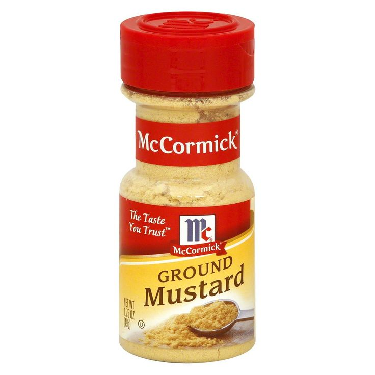 McCormick Ground Mustard 1.75 oz