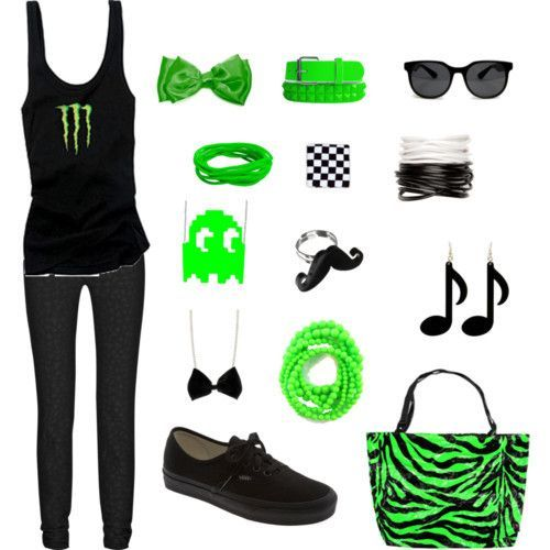 EMO OUTFITS  | emo - Polyvore | We Heart It...