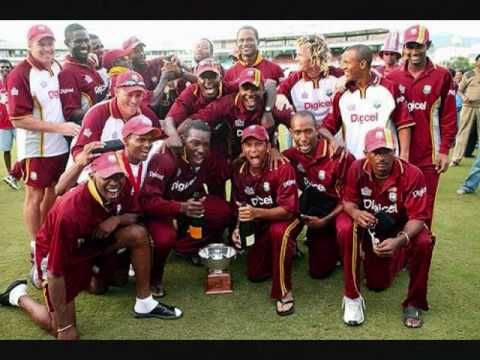 Country's favourite Cricket Song.....RALLY ROUND THE WEST INDIES ~ DAVID RUDDER.