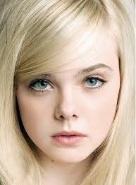 Elle Fanning has sky blue eyes...like Sky Porter.