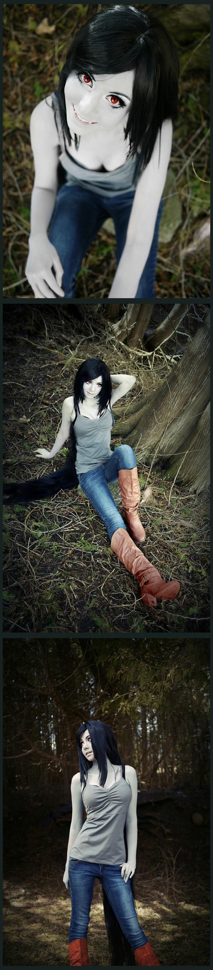 Marceline | http://traumacentregrrl.deviantart.com/art/Marceline-the-Vampire-Queen-364729047
