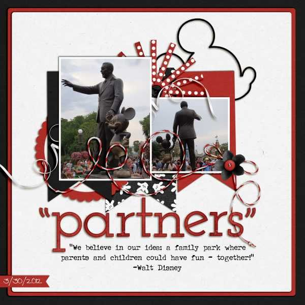 Partners Statue - Page 3 - MouseScrappers.com