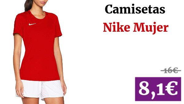 Camisetas Nike Mujer ✏ #vadegangas #Amazon en 2020 | Nike ...