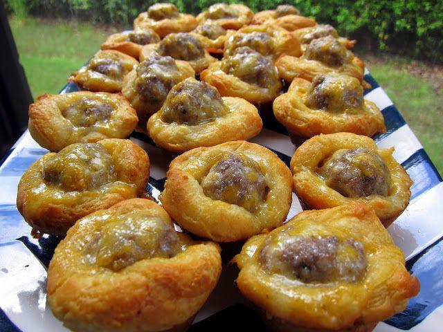 Sausage Biscuit Bites - Football Friday   Plain Chicken