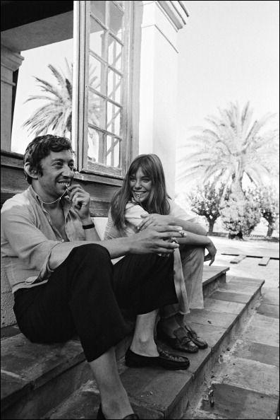 La Piscine dirigé parJacques Deray à Saint-Tropez,1968 Jane Birkin et Serge Gainsbourg