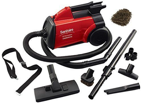 Sanitaire SC3683B Commercial Vacuum - has great suction power.