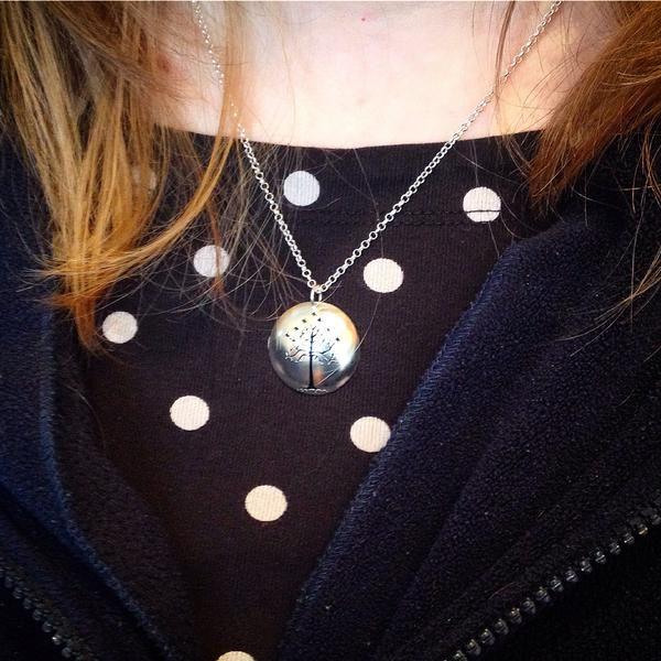Custom Piece: Tree of Gondor Cut out Necklace in Silver #Fanart #Fandom #LordoftheRings #nerd #geekyjewellery