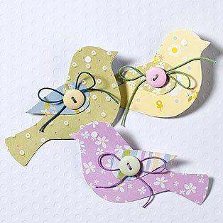 Paper Birdies - Uccellini   Card Ideas - SU Bird Punch