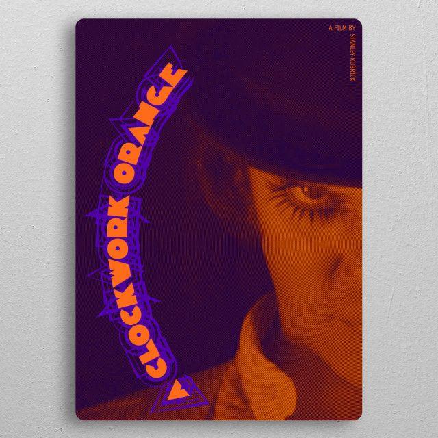 SALES! - Use code: ALLSTAR Buy 3-4 get 15% OFF | 5+ 20% OFF. A Clockwork Orange  Movie Poster metal print . #aclockworkorange #aclockworkorangemovieposter #movie #poster #movieposter #cinema #film #sale #sales #discount #deals #save #cinephile #cinemagifts #giftsforhim #giftsforher #gifts #home #homedecor #art #design #homegifts #popular #awesome #cool #campus #dorm #clockworkorange #family #books #book #shopping #books #kubrick #movies #kubrickmovies #onlineshopping #39