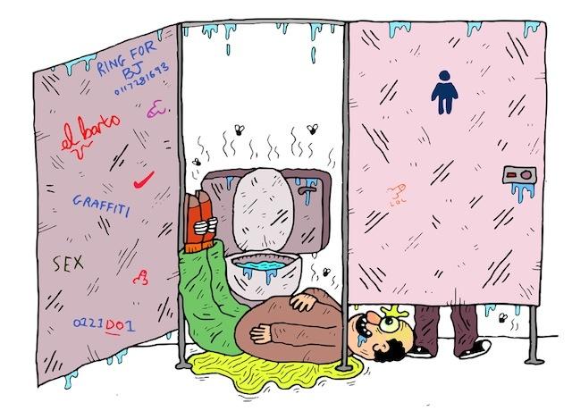 Povești de groază la WC-ul public | VICE