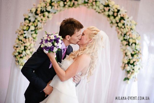 Wedding ceremony, wedding arch, wedding decor. milana-event.com.ua