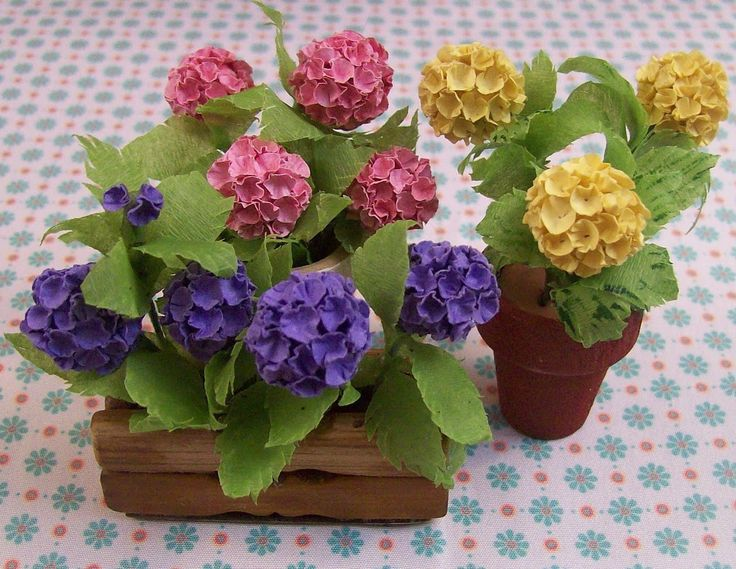 475 best miniature flower and plant tutorials images on pinterest paso a paso hydrangea pictures only showing how made the site has other flowers again showing the pictures of how made no text mightylinksfo
