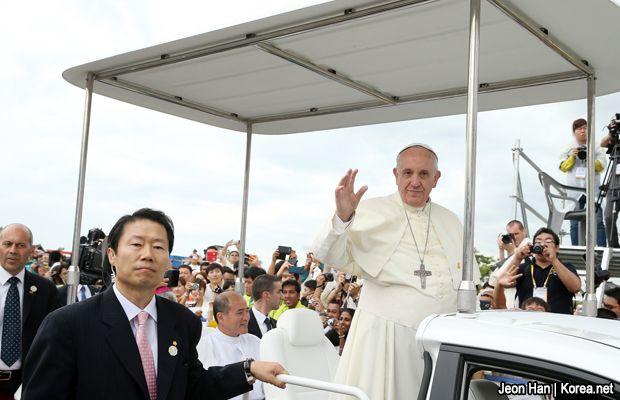 Papa Francisco finaliza visita a Corea del Sur