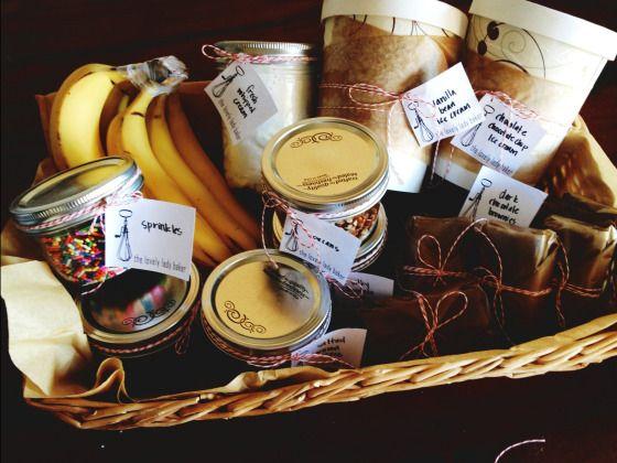 10 best ice cream kits images on pinterest gift basket gift ice cream sundaes and life updates homemade giftsgift basketsice negle Gallery