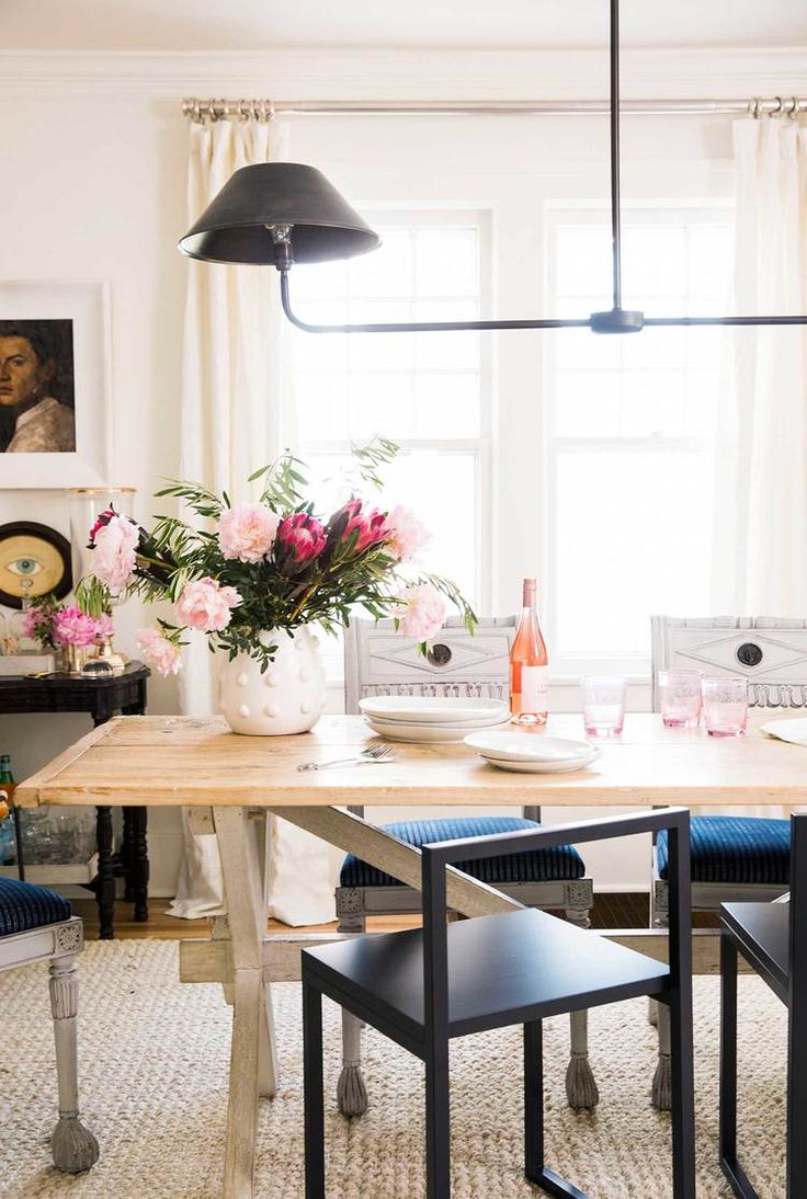 297 best Dining Rooms images on Pinterest   Crown, Design firms and Live