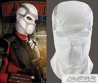 Geek   Suicide Squad Deadshot Mask Floyd Lawton Jr Luminous Cosplay Masks Helmet
