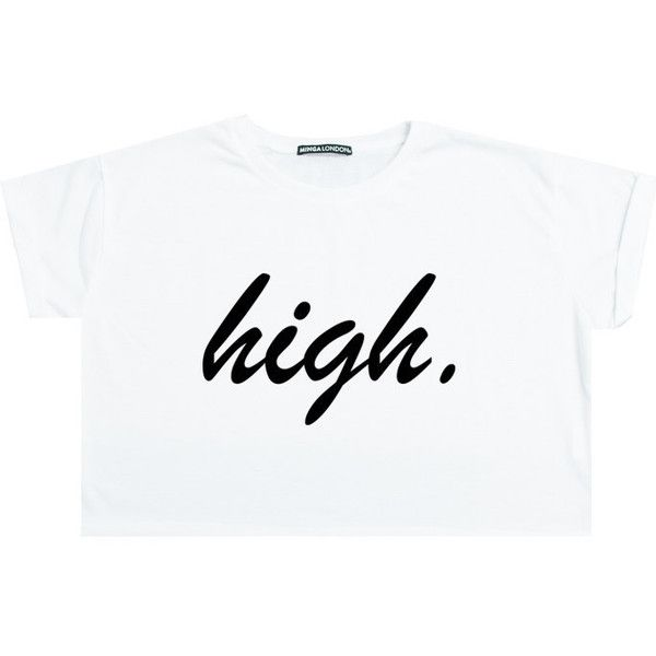 High Crop Top T Shirt Tee Womens Girl Funny Fun Tumblr Hipster Swag... (89 HRK) ❤ liked on Polyvore featuring tops, black, sweater vests, sweaters, women's clothing, retro crop top, loose fit crop top, loose fitting crop top, cut loose tops and cut-out crop tops