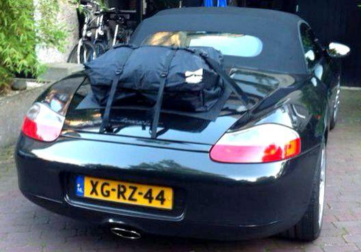 Die Alternative zu einem Gepäckträger für Porsche Boxster 986.Hinzufügen von Wasserdicht 50 Liter Gepäckraum