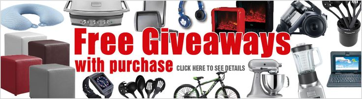 Don't miss your chance for Free Giveaways with purchase. Offer ends October 31 2016