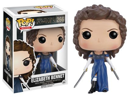 Funko releasing Elizabeth Bennet pop vinyl from Pride and Prejudice and Zombies movie