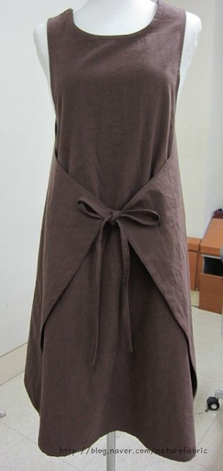 wrap apron dress