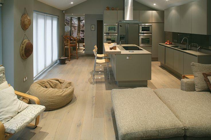 Lakeland Retreat - Open plan living - Interior design inspiration