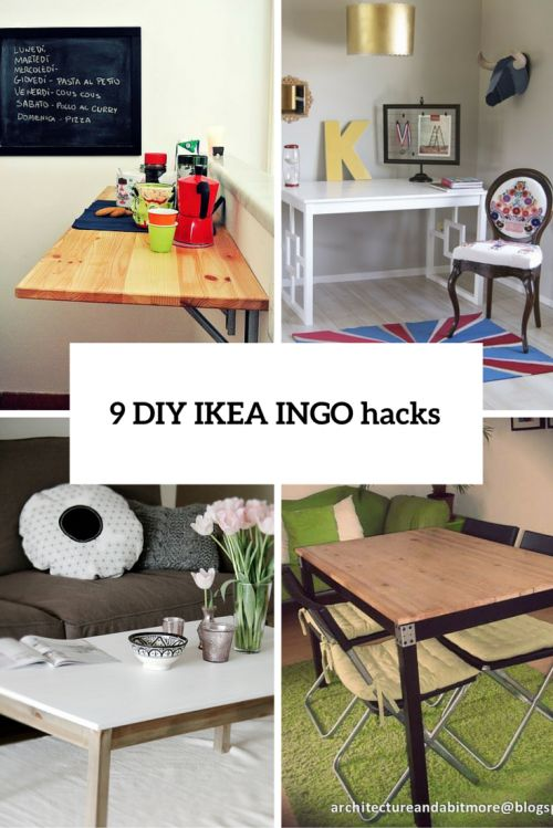 nice diy ikea ingo hack projects coffee table bar table