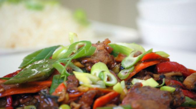 Beef in Oyster Sauce from $120 Food Challenge