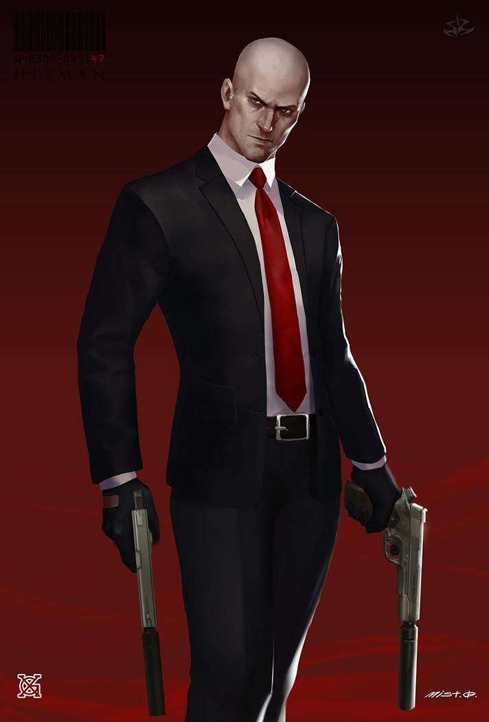 Agent 47 Fanart By Mist Xg Hitman Hitman Agent 47 Agent