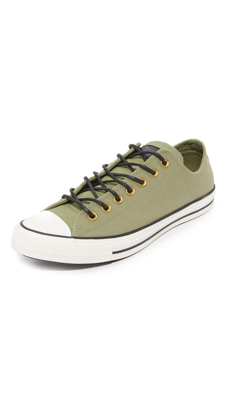 CONVERSE Chuck Taylor Leather & Corduroy All Star Oxfords. #converse #shoes #flats