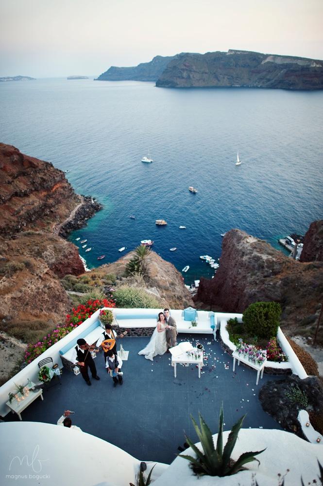 Greek Island Wedding Inspiration