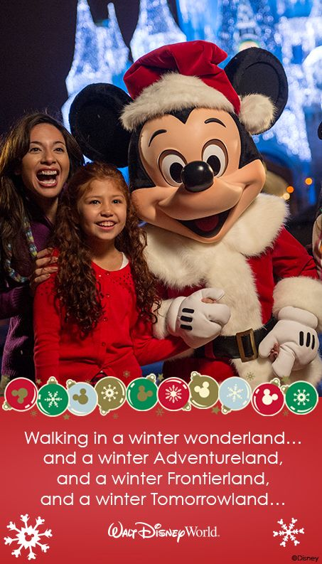 Disney Quotes For Christmas Cards: Happy Holidays From Walt Disney World!