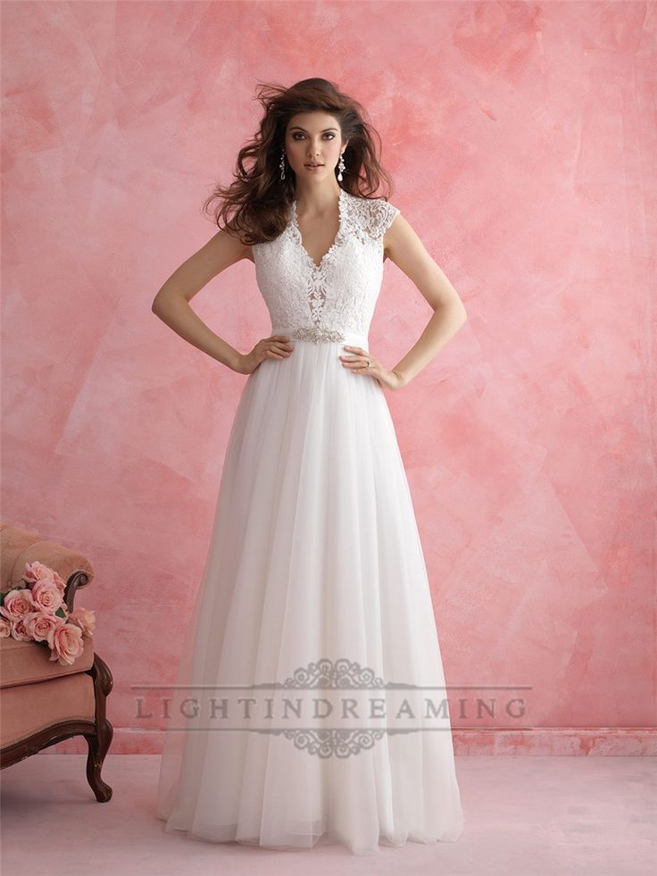 Keep it sweet in our A-line gown