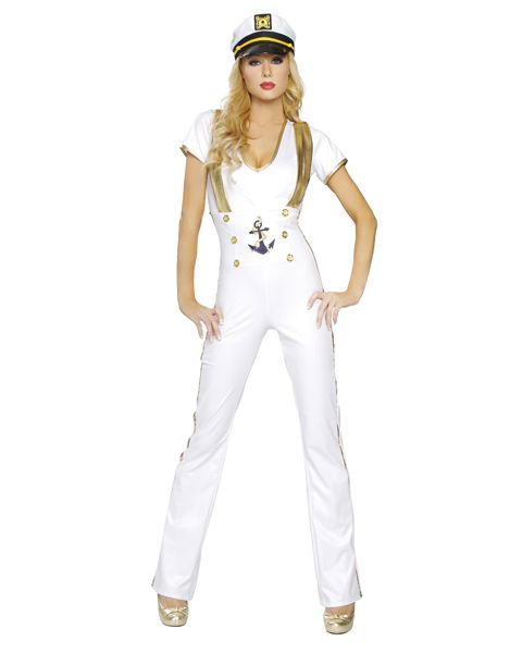 Adult Sexy Sailor Captain Costume,$59.96