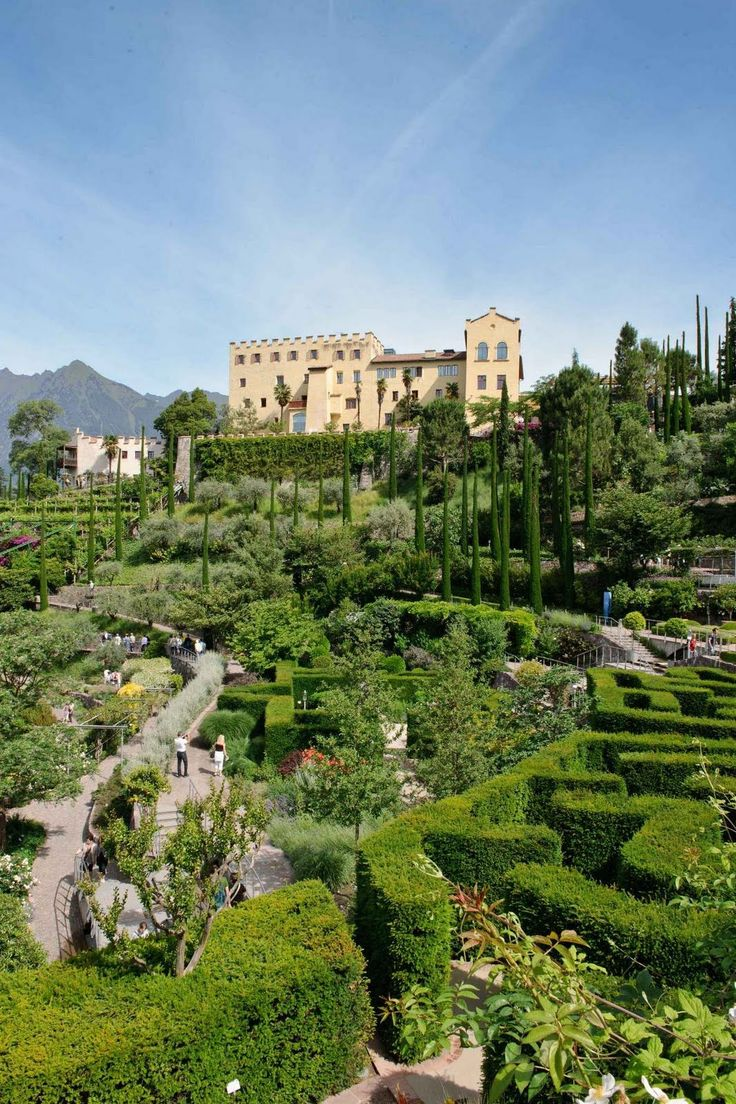 The Gardens of Trauttmansdorff Castle, Merano, Trentino-Alto Adige, Italy