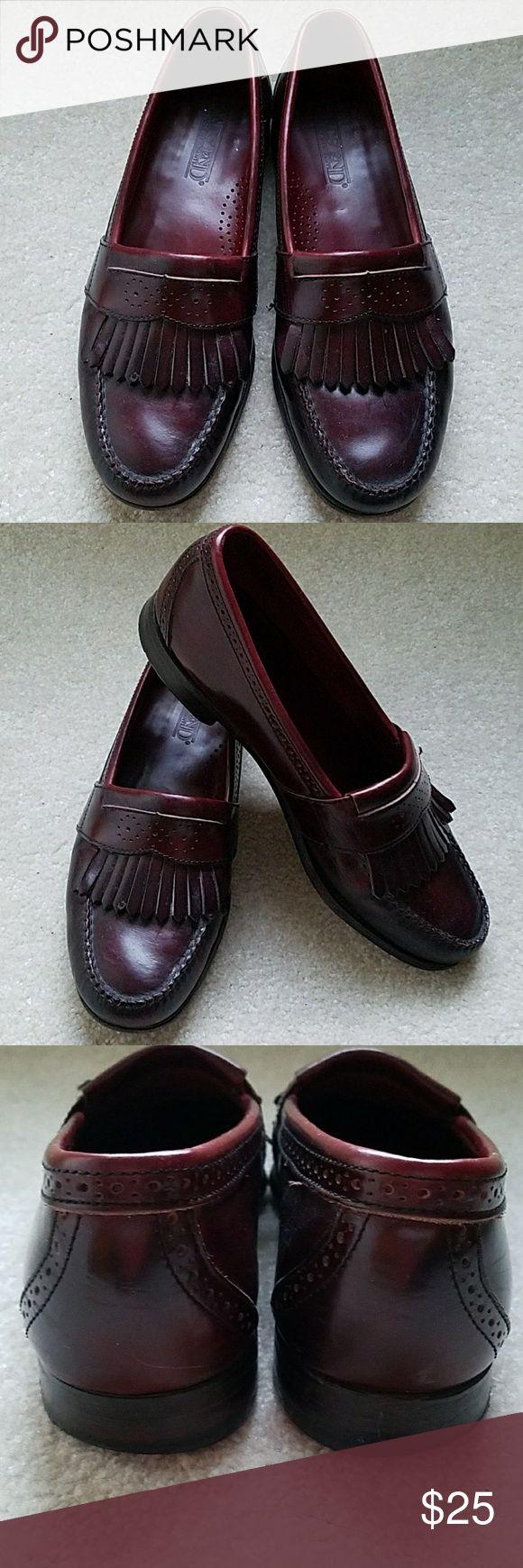 Lands End Men's Loafers Pre owned Lands' End Kilted Slip on Loafers. Mahogany Lands' End Shoes Loafers & Slip-Ons