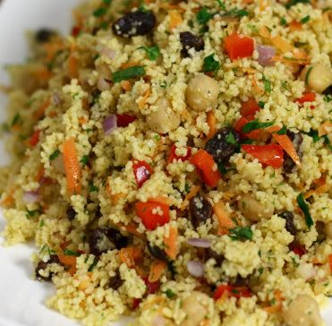 Recipe for Spanish Couscous Salad | foodishes | Pinterest