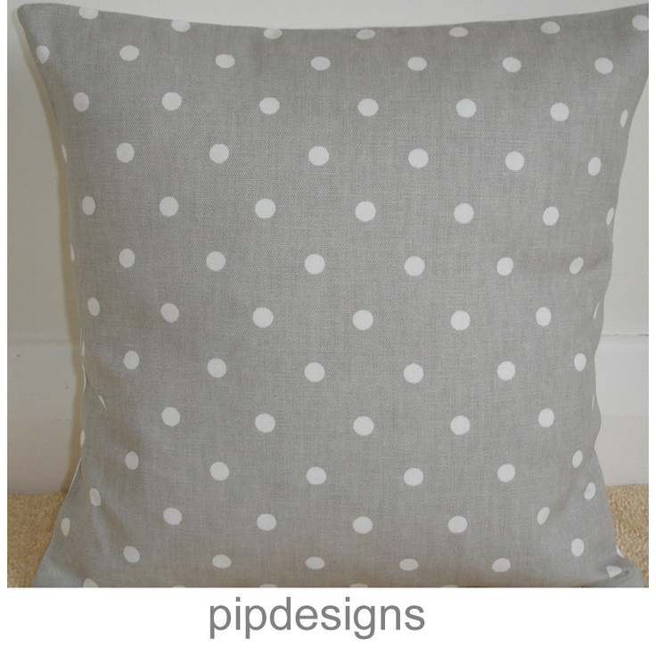 Polka Dot Pillowcases Interesting 53 Best Grey Gray Polka Dots Images On Pinterest  Dots Polka Dot Inspiration Design