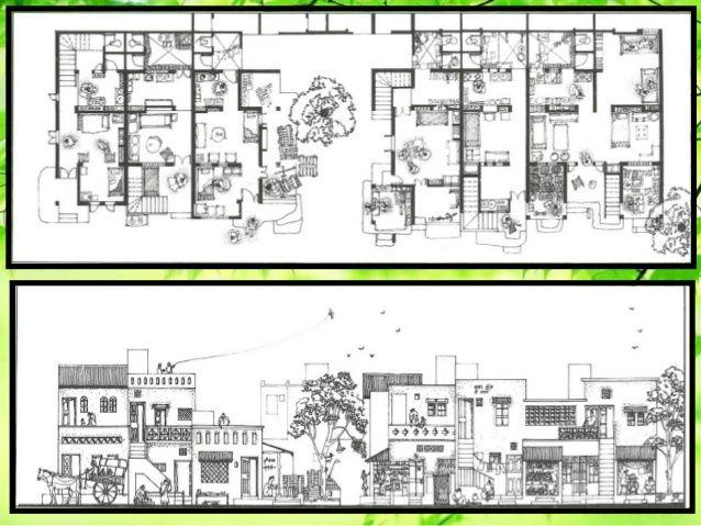 Aranya Community Housing Balkrishna Doshi Community Housing Aranya House Plans