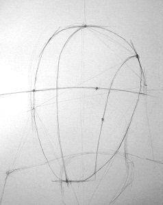 Рисование головы человека продолжение- Как научиться рисовать